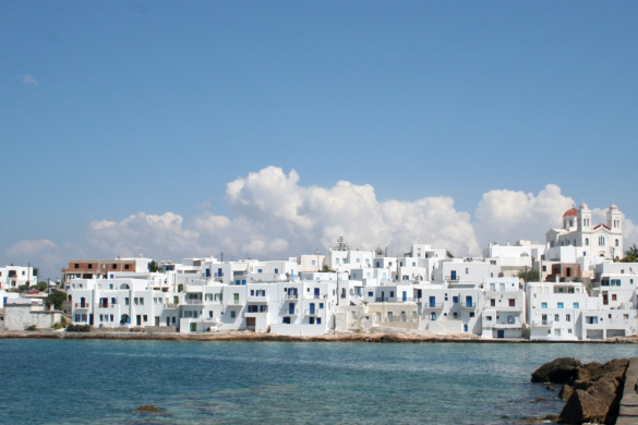 Paros island in Greece