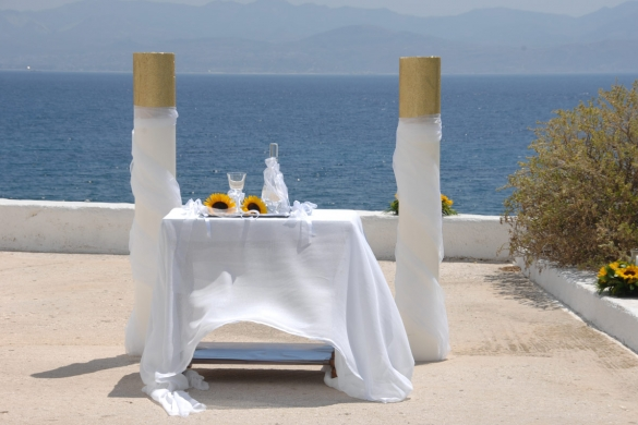 Weddings in Paros Albatross Hotel